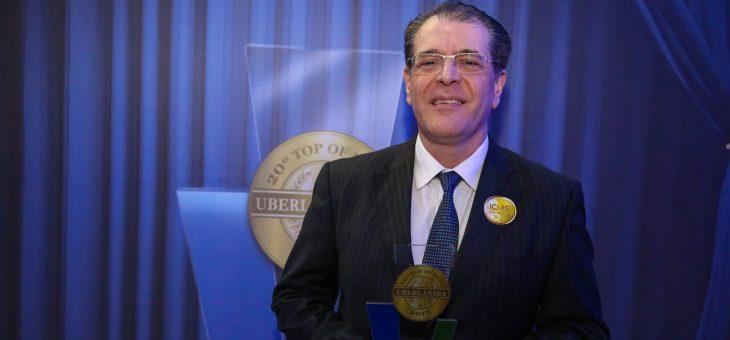 Martins e Tribanco participam da entrega do Prêmio Top Of Mind Uberlândia S.A.